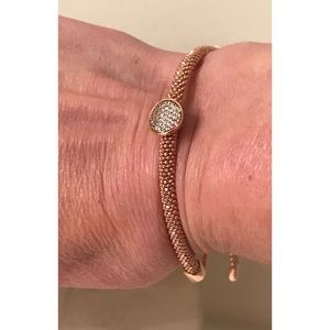 Links Of London 925 Rose Gold Starlight Bracelet